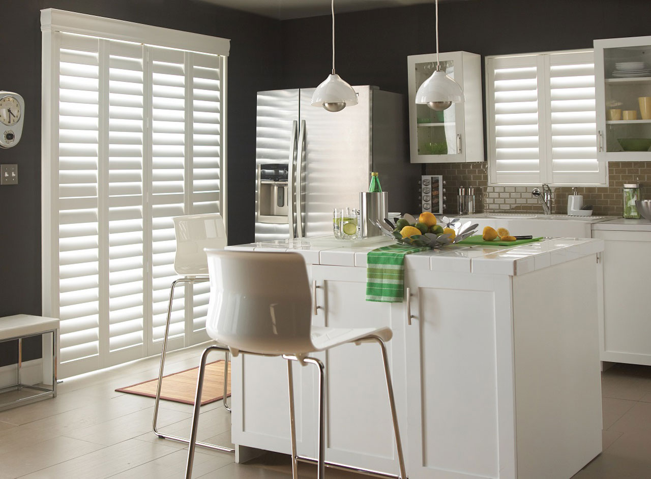 Custom made-to-measure window shutters and blinds from Key Largo Shutters in Essex in the UK