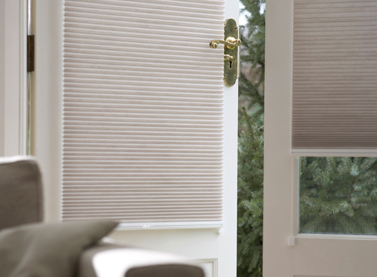 'Duette' Window Blinds Custom Made & Fitted in the UK by Key Largo Shutters in Essex