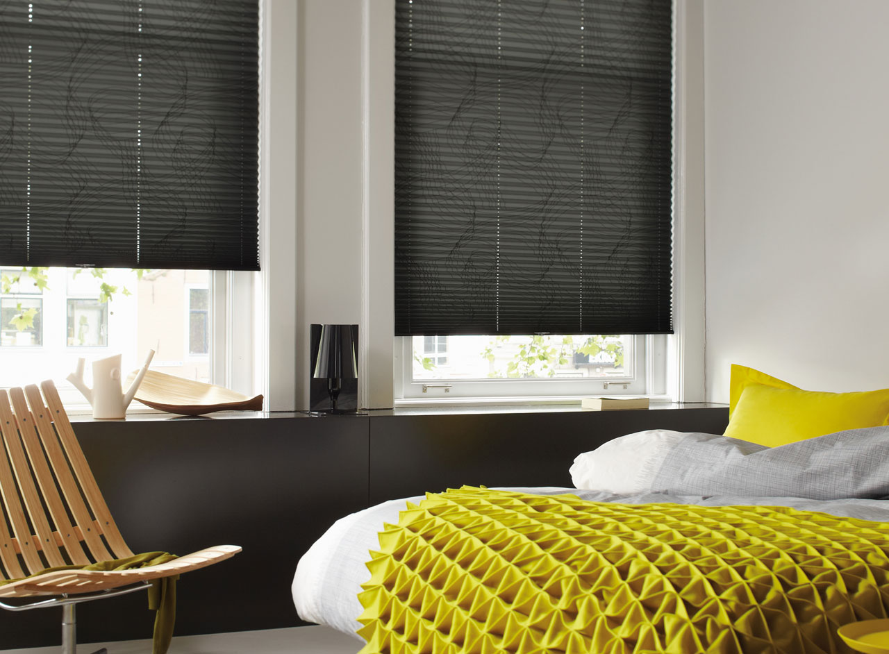 Custom Plisse Window Blinds Supplied and Fitted by Key Largo Shutters in Essex UK