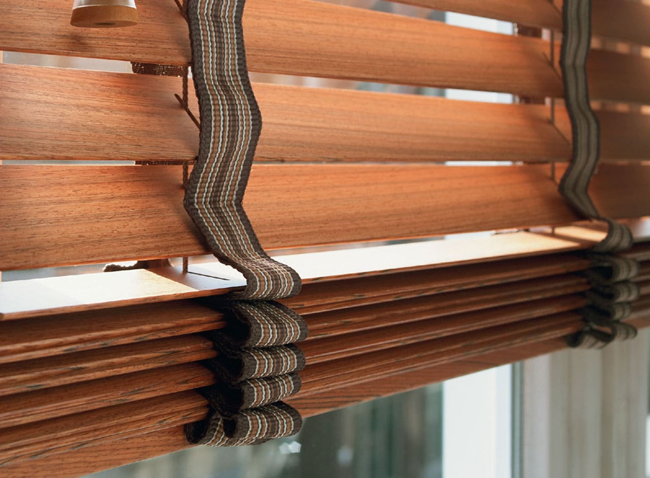 Made to Measure Wooden Venetian Window Blinds Supplied & Fitted Key Largo Shutters in Essex UK