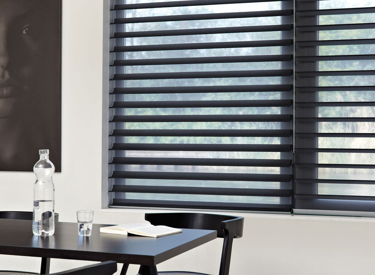 Custom Made Silhouette Window Blinds Supplied and Fitted by Key Largo Shutters in Essex UK