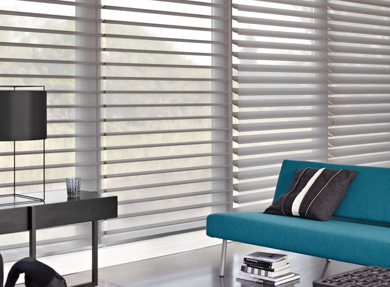 Custom Made To Measure Silhouette Blinds Supplied and Professionally Fitted by Key Largo Shutters in Essex UK