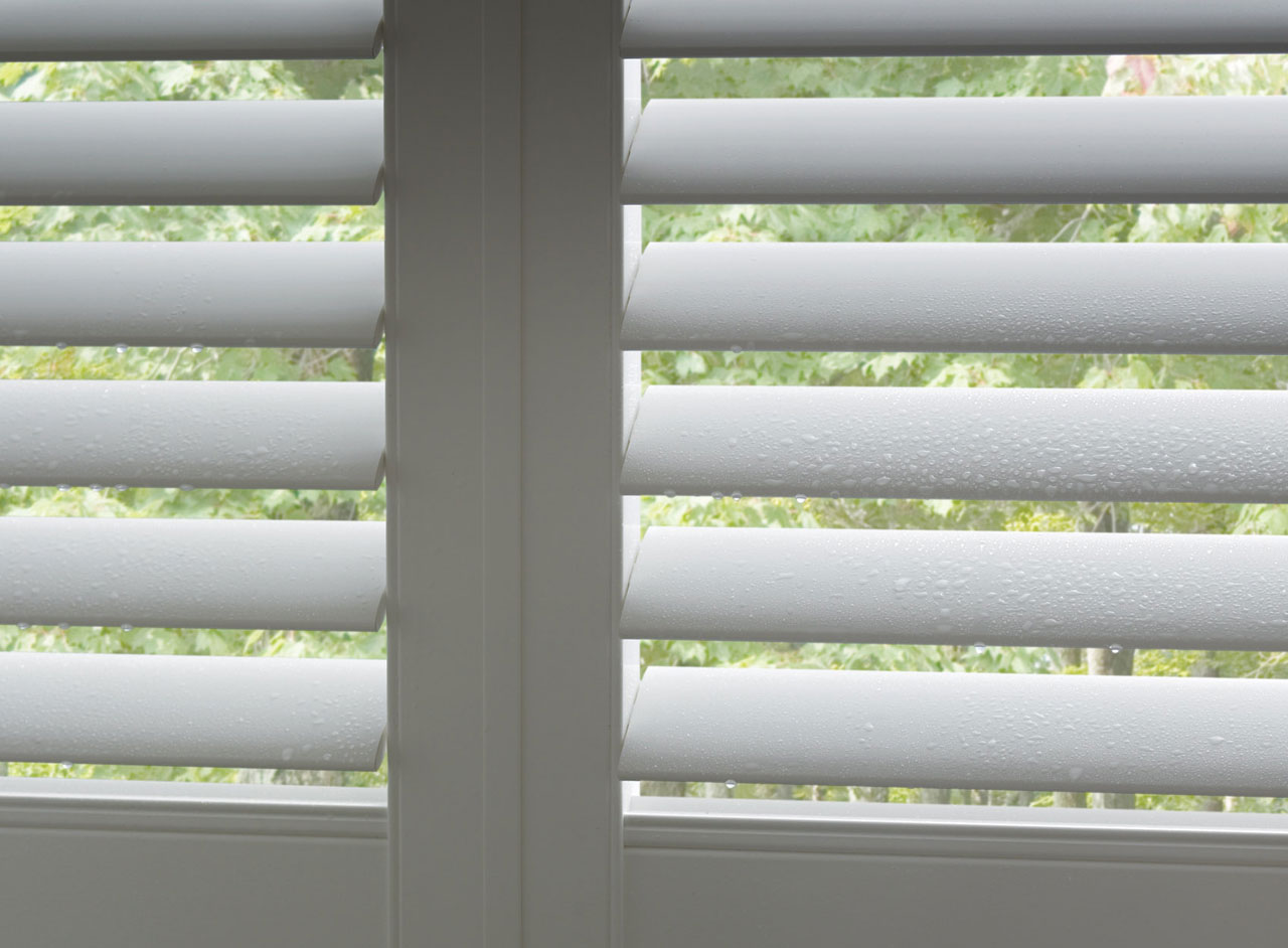 Custom Vinyl Window Shutters Supplied and Fitted by Key Largo Shutters in Essex UK