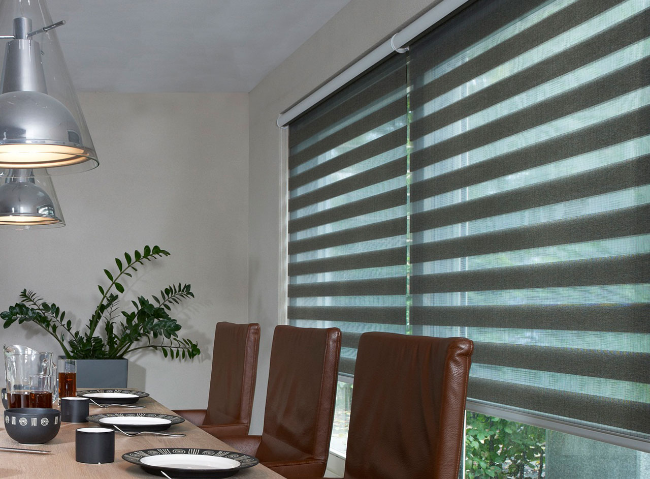 Custom Made To Measure Multishade Blinds Supplied and Professionally Fitted by Key Largo Shutters in Essex UK