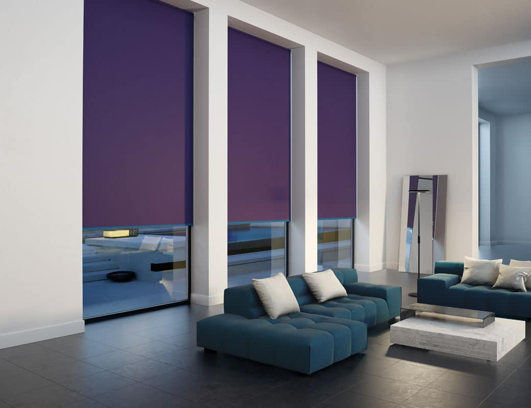 Custom Made Roller Blinds For Any Room Supplied and Fitted by Key Largo Shutters in Essex UK